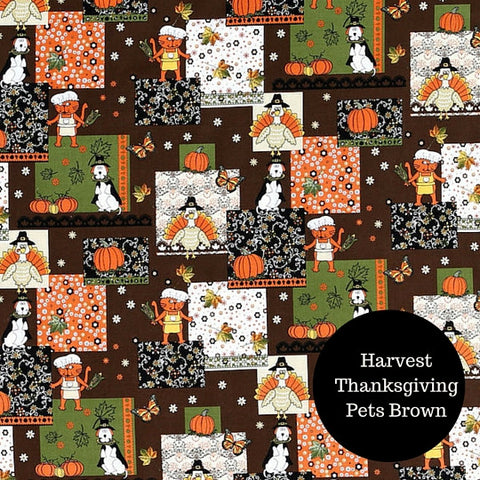 Bandana - Customizable Thanksgiving & Harvest - Three Humans & A Dog Company  - 4