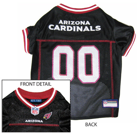 NFL - Arizona Cardinals  Dog Jersey - Red Trim