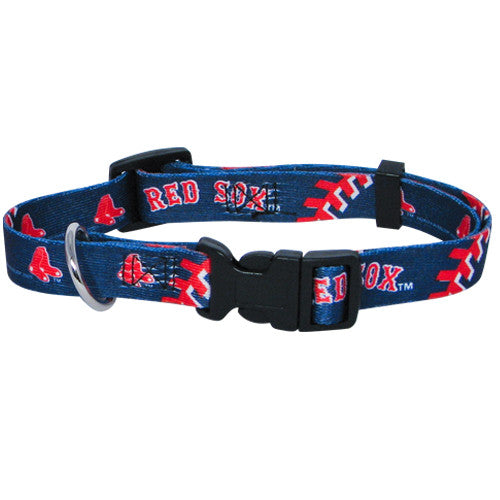 MLB - Boston Red Sox Dog Collar - Three Humans & A Dog Company
