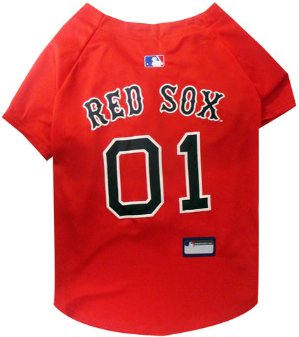 MLB  - Boston Red Sox Dog Jersey - Three Humans & A Dog Company  - 2