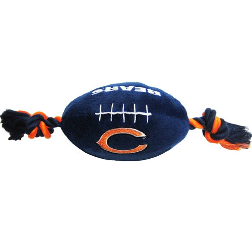 NFL - Chicago Bears Plush Football - Three Humans & A Dog Company