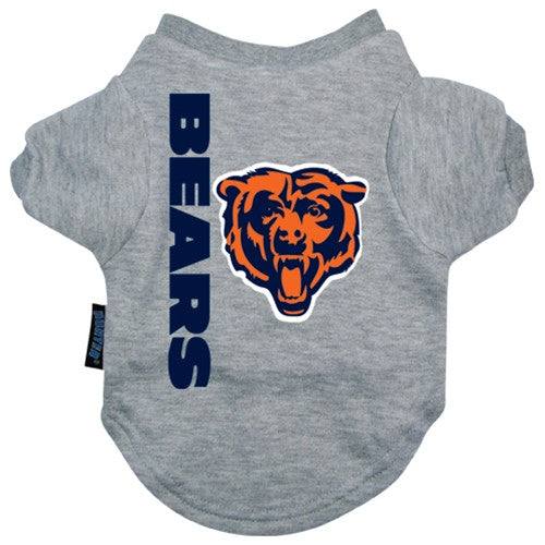 NFL - Chicago Bears Dog T-Shirt - Three Humans & A Dog Company