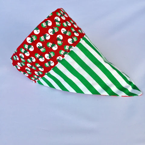 Bandana - Designed Green Candy Cane