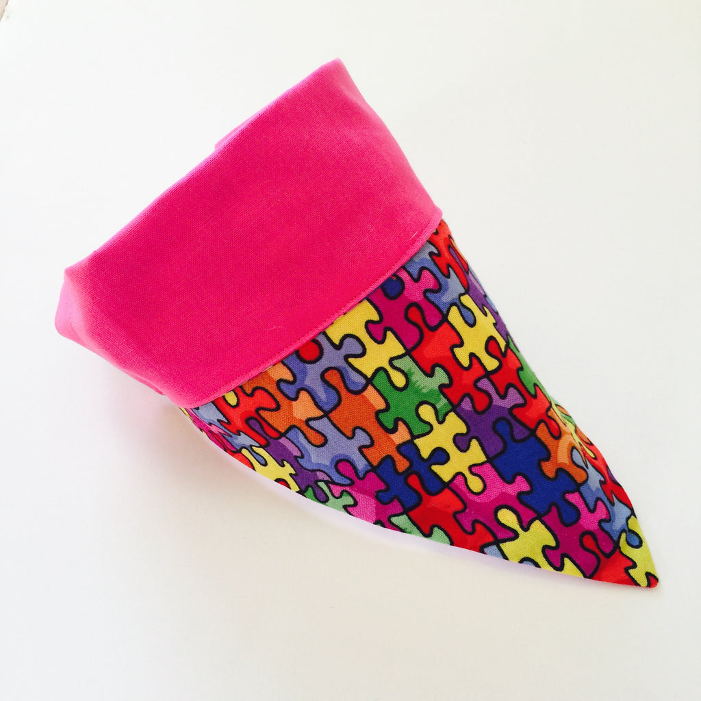 Bandana - Designed Autism Awareness Month