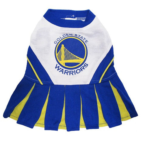 NBA - Golden State Warriors Dog Cheerleader Dress