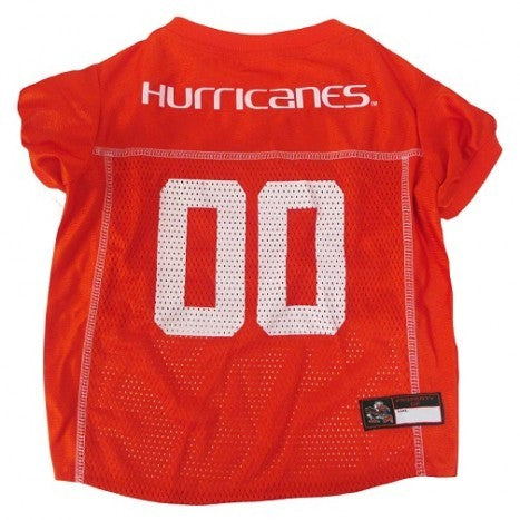 College Football - Miami Hurricanes Dog Jersey