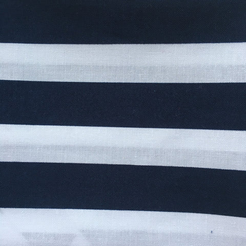 Bandana - Designed Anchors with Blue Stripes