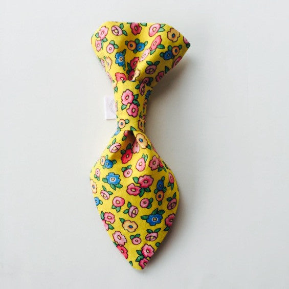 Pet Tie - Yellow Burst Of Spring