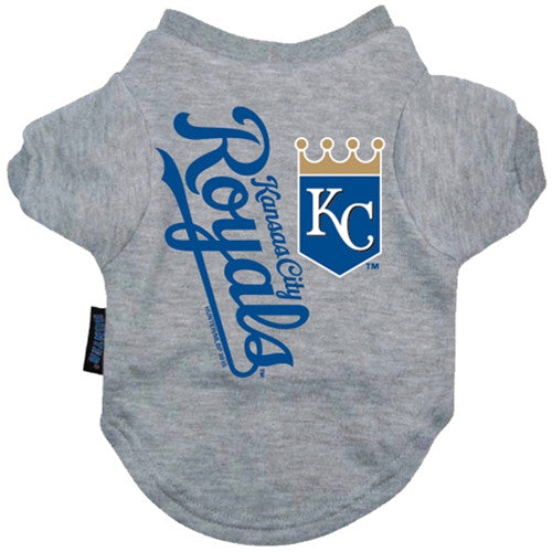 MLB - Kansas City Royals Dog T-Shirt - Three Humans & A Dog Company