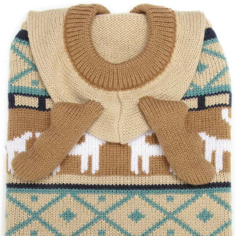 Dog Sweater - Antler Sweaters - Three Humans & A Dog Company  - 4