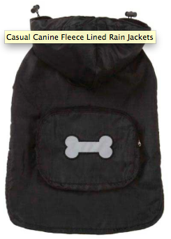 Dog Coat - Rain Jackets with Bone - Three Humans & A Dog Company  - 3