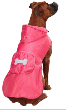Dog Coat - Rain Jackets with Bone - Three Humans & A Dog Company  - 1