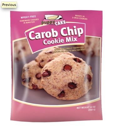 Dog Treat - Doggie Carbo Chip Cookie Mix