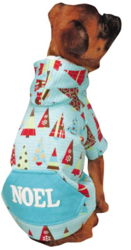Dog Sweater - Winter Lights Dog Hoodies