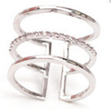Rings - Three Layer Ring For Women - Three Humans & A Dog Company  - 2