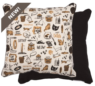 Decorative Pillow - Cat Lady - Three Humans & A Dog Company