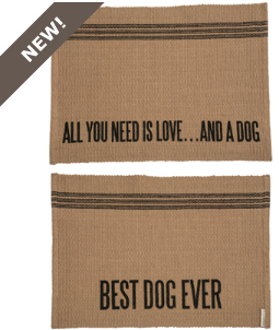 Home Decor   Rug   And A Dog   2 Sided