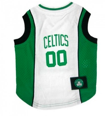 NBA - Boston Celtics Dog Jersey - Three Humans & A Dog Company  - 1