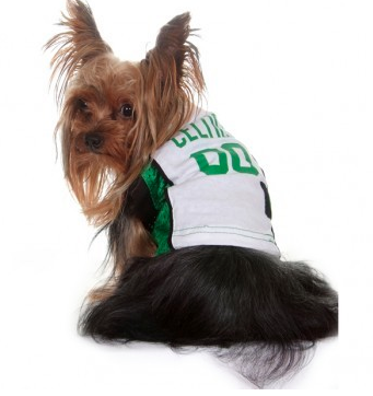 NBA - Boston Celtics Dog Jersey - Three Humans & A Dog Company  - 2