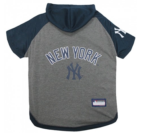 MLB - New York Yankess Dog Hoody Tee - Three Humans & A Dog Company