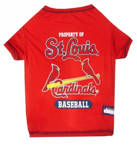 MLB  - St. Louis Cardinals Dog Jersey - Three Humans & A Dog Company
