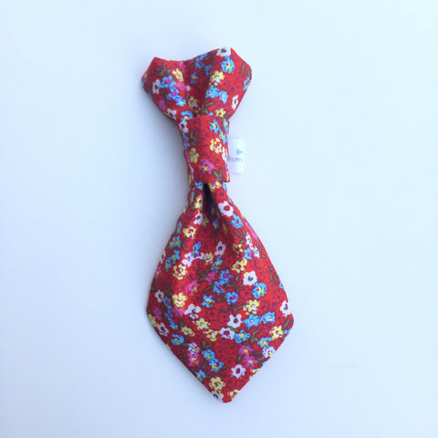 Pet Tie - Spring Flowers - Three Humans & A Dog Company  - 1