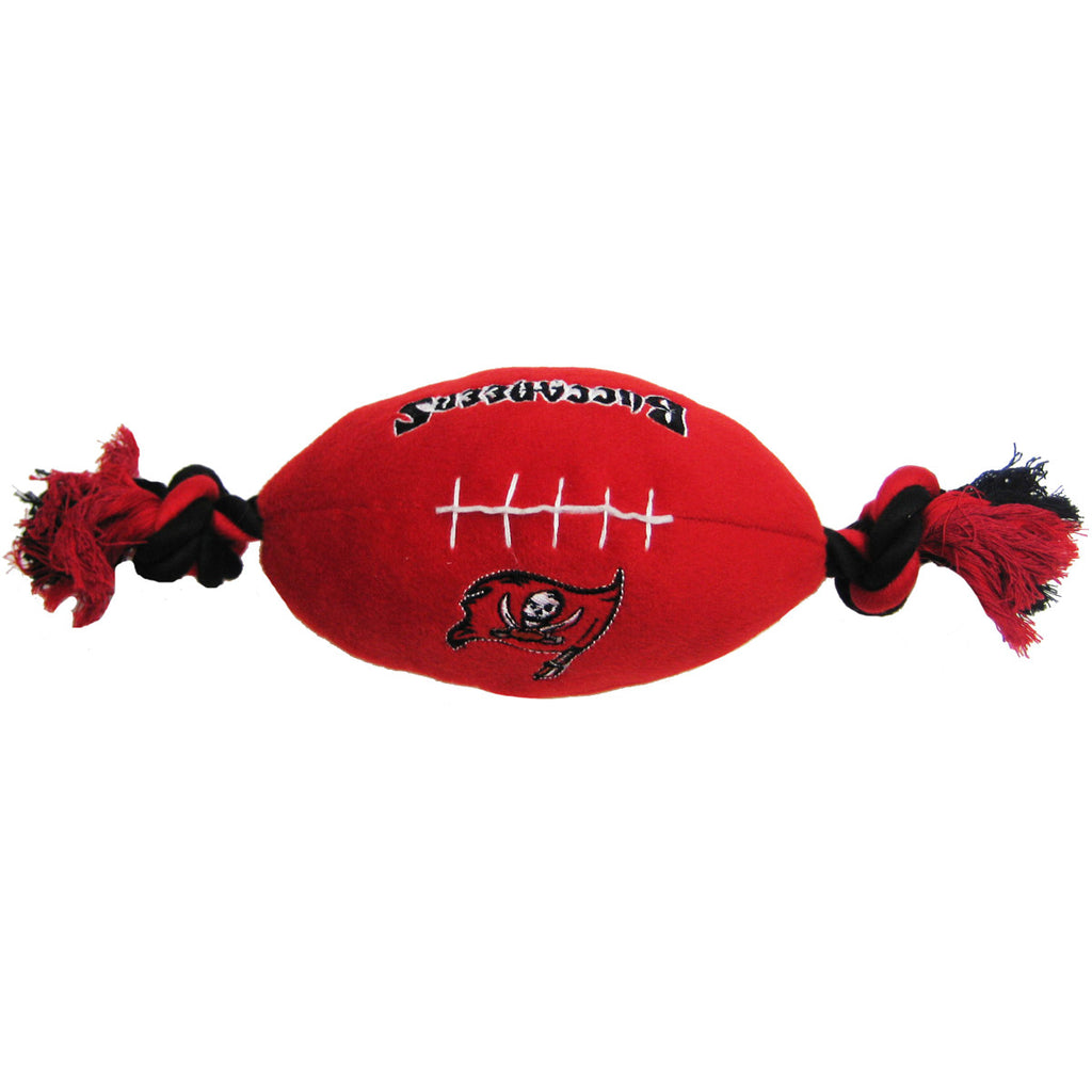 NFL - Tampa Bay Buccaneers  Dog Plush Football - Three Humans & A Dog Company