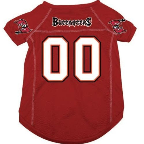 NFL - Tampa Bay Buccaneers Dog Jersey - Three Humans & A Dog Company