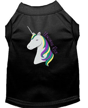 Unicorn - Rock Embroidered T-Shirts