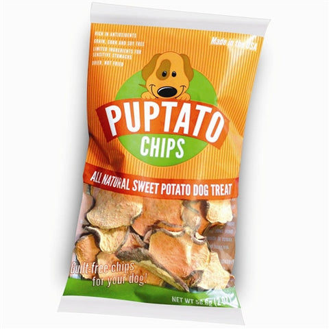 Dog Treat - Puptato Sweet Potato Chips