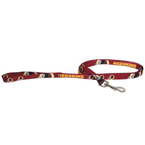 NFL - Washington Redskins Dog Leash - Three Humans & A Dog Company