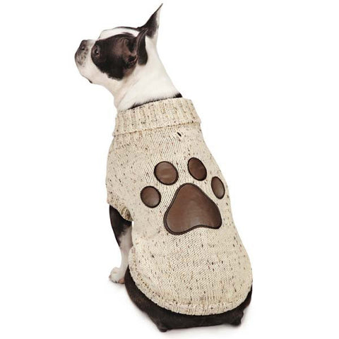 Dog Sweater - Aberdeen Paw Sweater