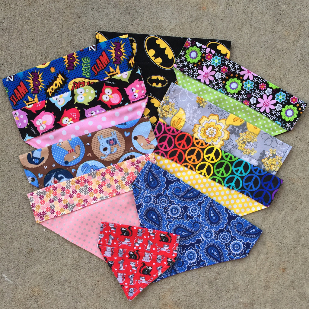 Bandana - Customizable & Super Chic - Three Humans & A Dog Company  - 1