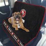 Car Seat Cover - San Francisco 49ers Car Seat Cover