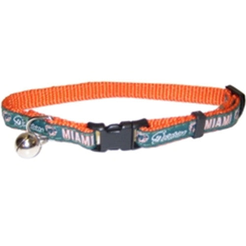 NFL - Miami Dolphins Cat Collar - Three Humans & A Dog Company
