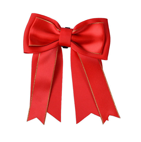 Ribbon Bow - Christmas Red Grosgrain