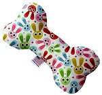 Dog Toy - Funny Bunnies Bone Dog Toy
