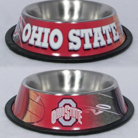 College - Ohio State Buckeyes Dog Bowls