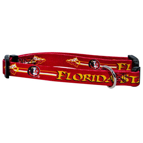 College - Florida State Seminoles Dog Collar - Three Humans & A Dog Company