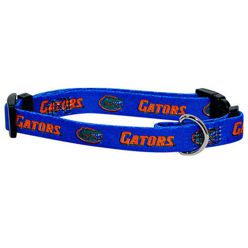 College Football - Florida Gators Dog Collar - Three Humans & A Dog Company