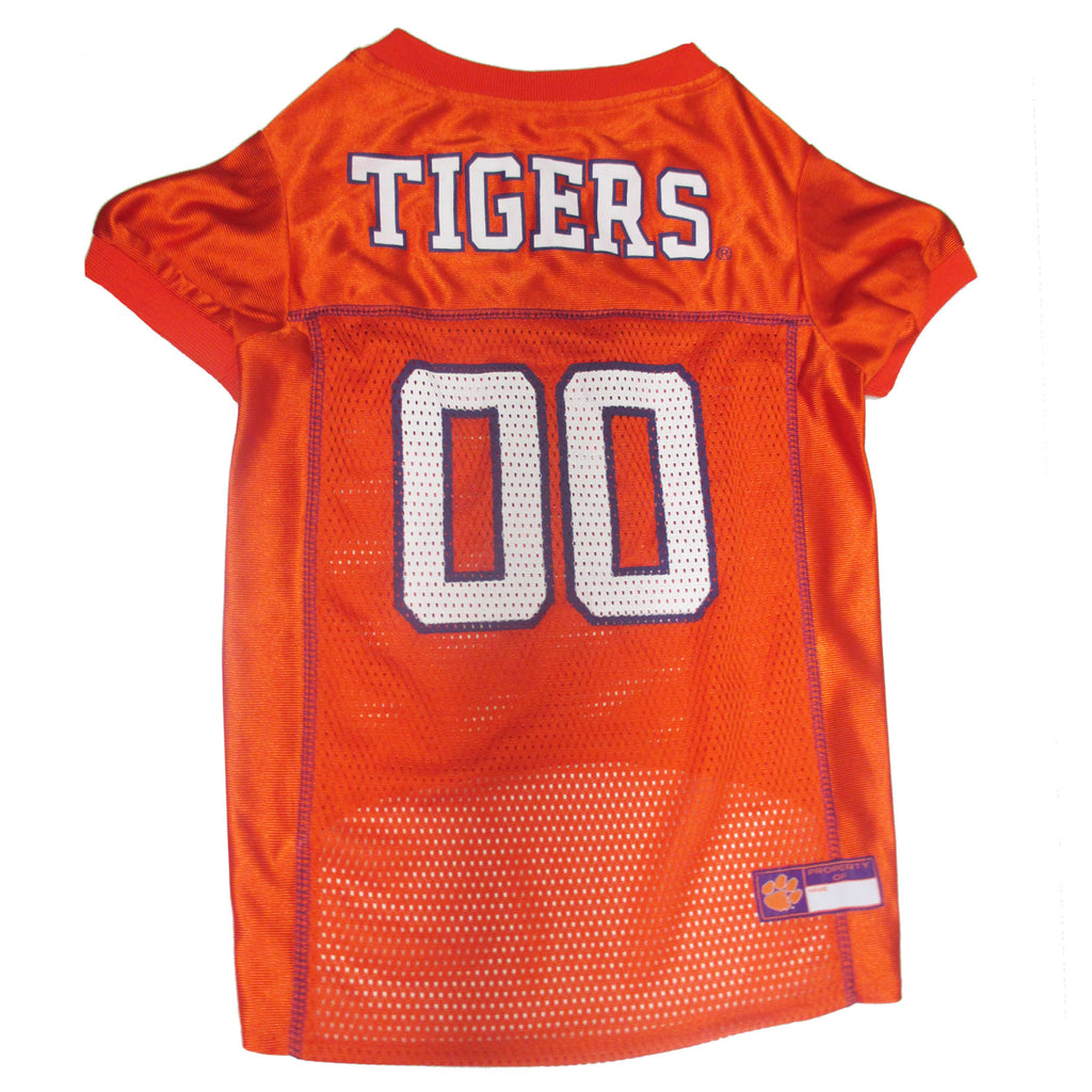 College Football - Clemson Tigers Dog Jersey - Three Humans & A Dog Company