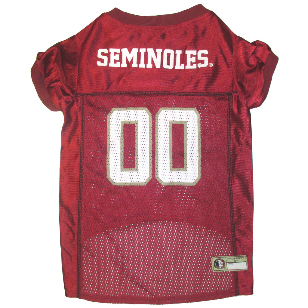 College Football - Florida State Seminoles Dog Jersey - Three Humans & A Dog Company