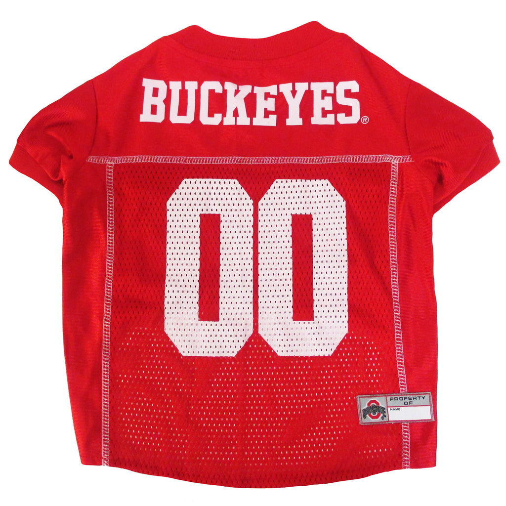 College  Football - Ohio State Buckeyes Dog Jersey - Three Humans & A Dog Company