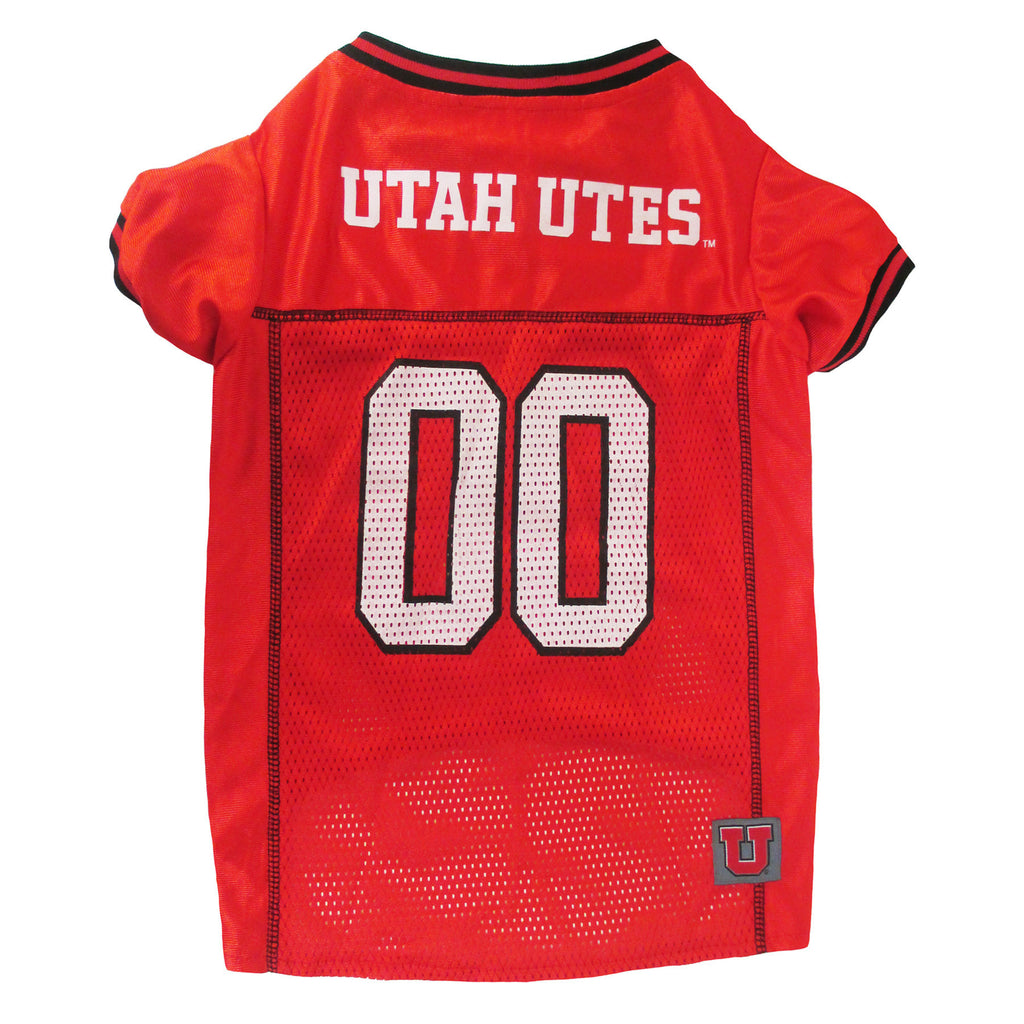 College Football - University of Utah Utes Dog Jersey - Three Humans & A Dog Company