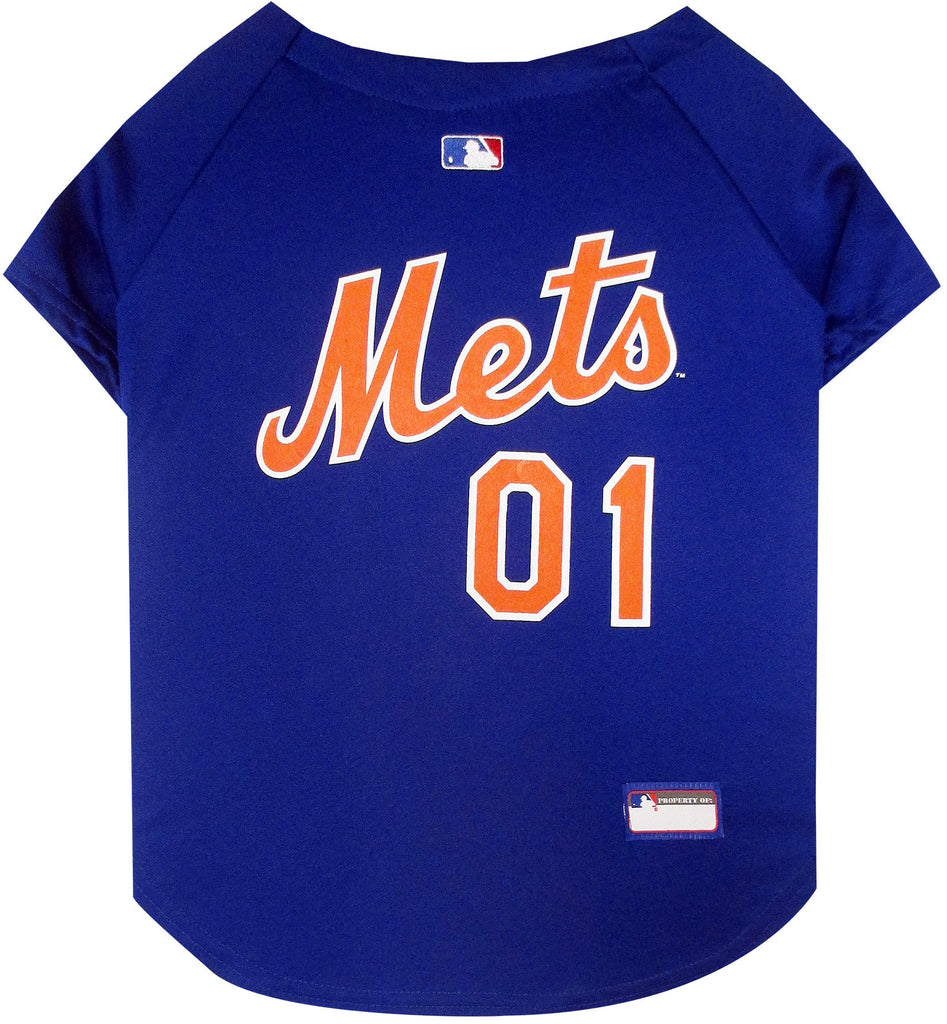 MLB  - New York Mets Dog Jersey - Three Humans & A Dog Company  - 1