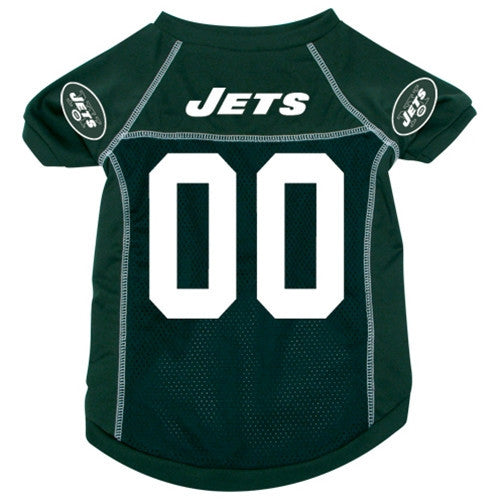 NFL - New York Jets Dog Jersey - Three Humans & A Dog Company