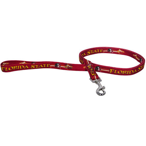 College - Florida State Seminoles Leash - Three Humans & A Dog Company
