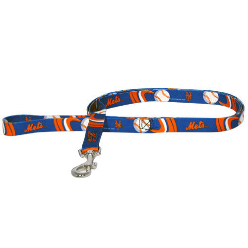 MLB - New York Mets Dog Leash - Three Humans & A Dog Company