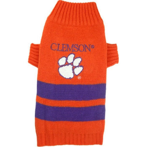 College Football - Clemson Tigers Dog Sweater - Three Humans & A Dog Company