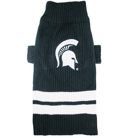 College Football - Michigan State Spartans Dog Sweater